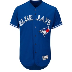 Toronto Blue Jays Men's Authentic Flex Base Alternate Jersey by Majestic