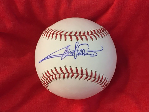Photo of Stan Williams Autographed Baseball