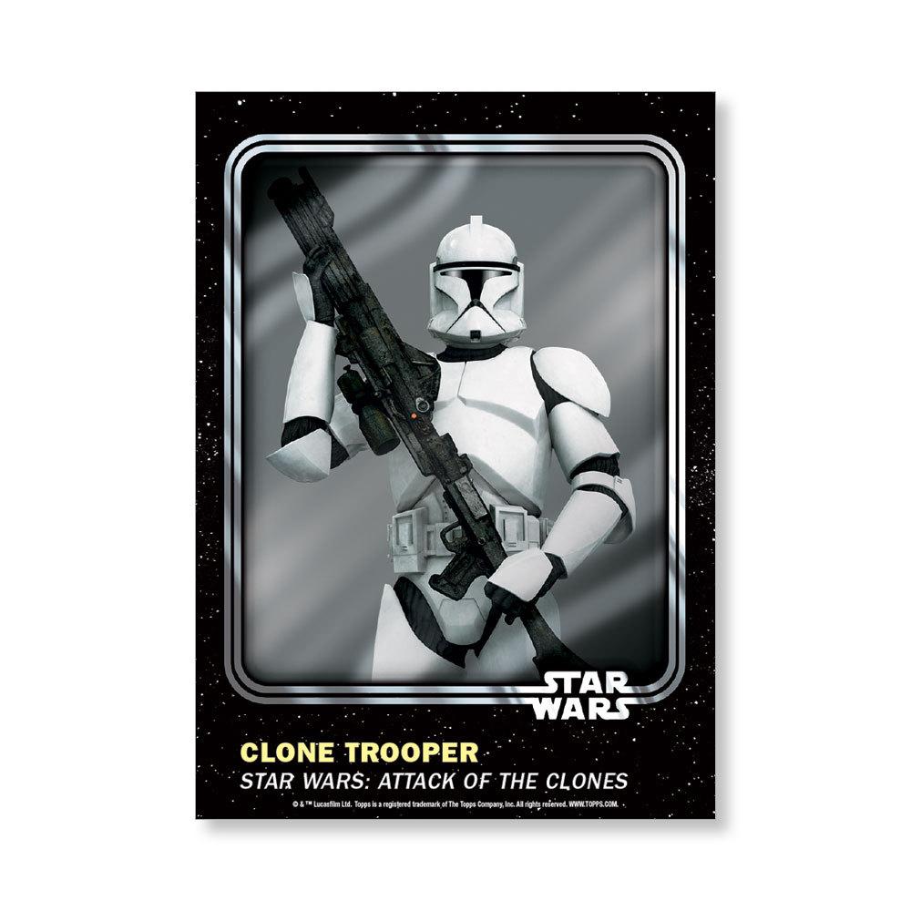 Clone Trooper 2016 Star Wars Card Trader Base Poster