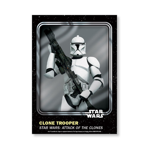 Clone Trooper 2016 Star Wars Card Trader Base Poster - # to 99