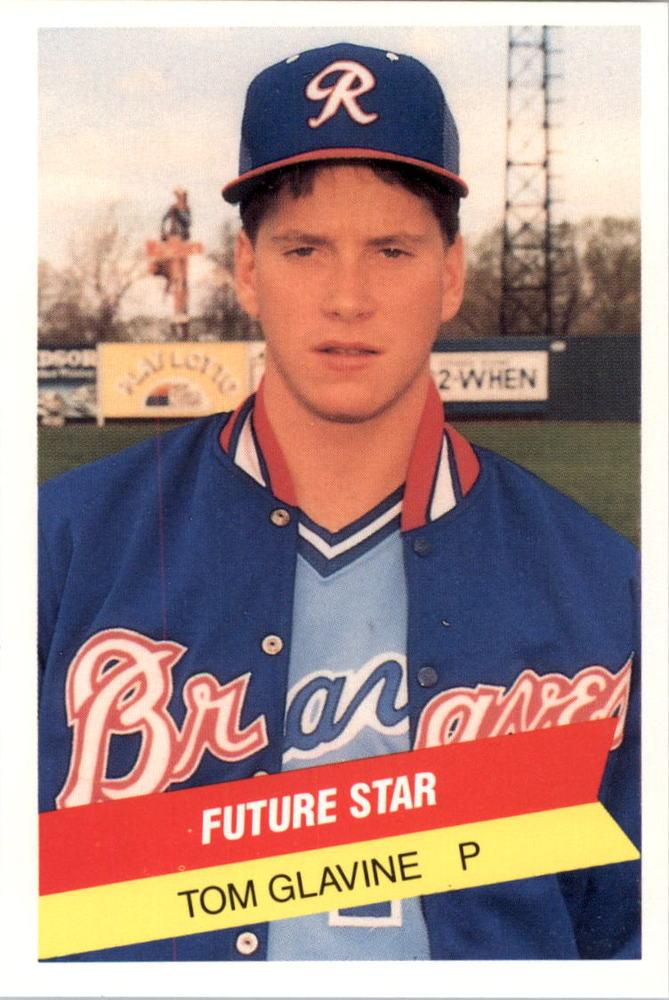 1987 International League All-Stars TCMA #32 Tom Glavine