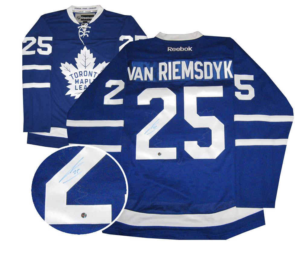 James Van Riemsdyk - Signed 2016 Replica Leafs Blue Jersey