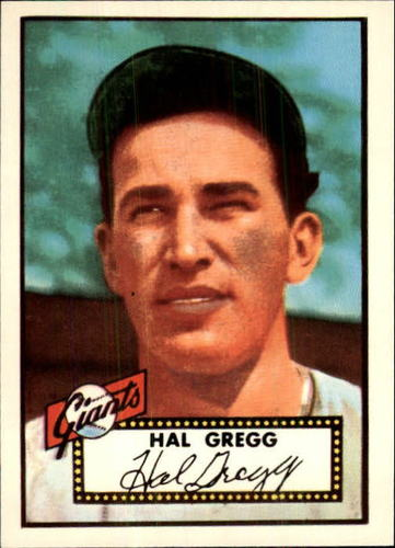 Photo of 1983 Topps 1952 Reprint #318 Harold Gregg