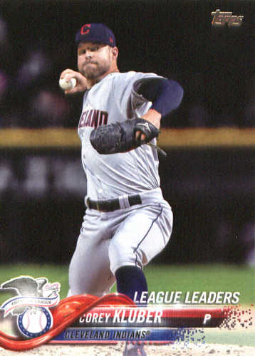 Photo of 2018 Topps #31 Corey Kluber LL