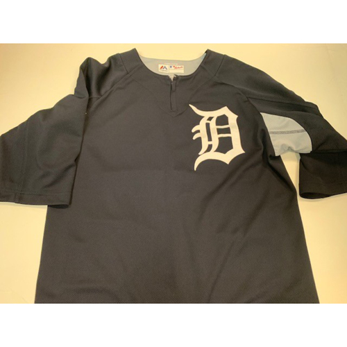 Photo of Team-Issued #25 Home Batting Practice Jersey