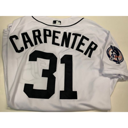 Photo of Team-Issued Jack Morris Number Retirement Jersey: Ryan Carpenter