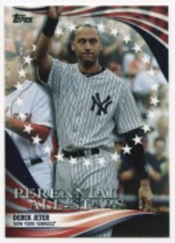 Photo of 2019 Topps Update Perennial All Stars #PAS17 Derek Jeter
