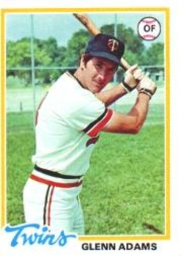 Photo of 1978 Topps #497 Glenn Adams