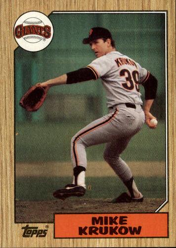 Photo of 1987 Topps #580 Mike Krukow
