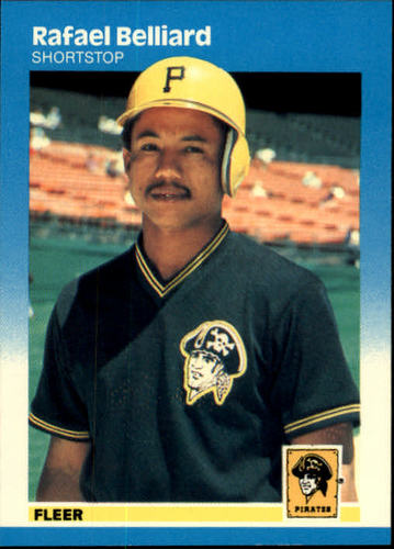 Photo of 1987 Fleer #602 Rafael Belliard RC