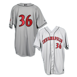 Photo of #36 Game Worn Road Jersey