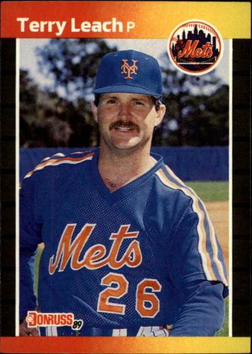 Photo of 1989 Donruss #502 Terry Leach