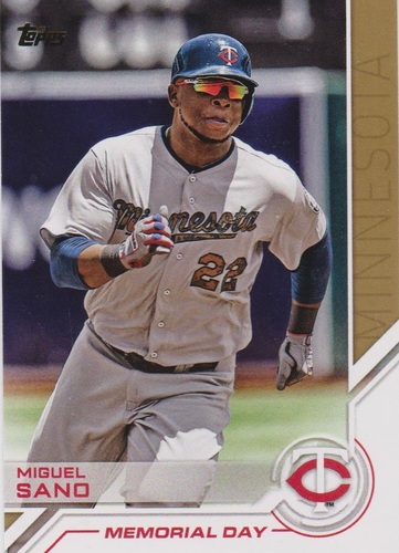 Photo of 2017 Topps Salute #S76 Miguel Sano