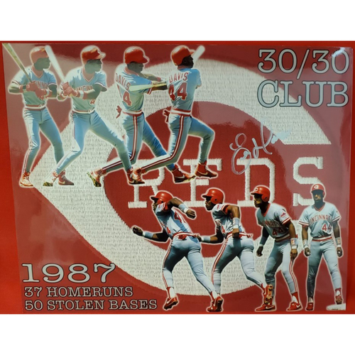 Photo of Eric Davis Autographed Photo (30/30 Club)