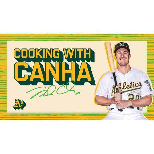 Photo of Oakland A's Community Fund: Virtual Cooking Class w/ Mark Canha