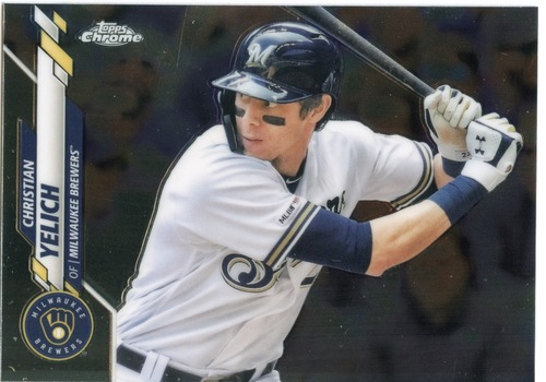 Photo of 2020 Topps Chrome #138 Christian Yelich