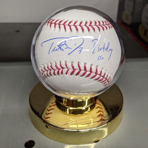 Photo of Trot Nixon #7 'Dirtdog 06' Autographed Baseball