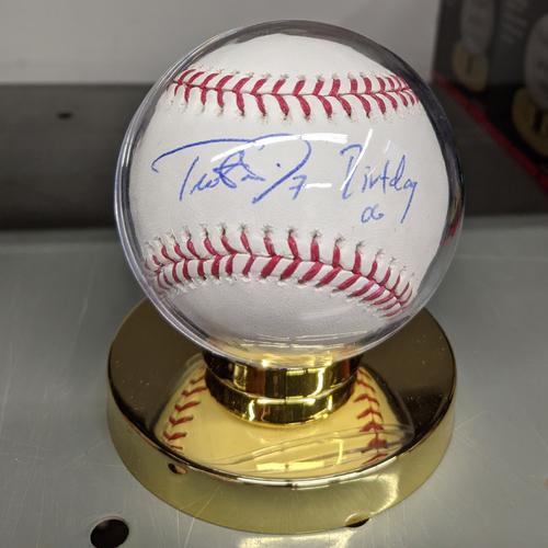 Photo of Trot Nixon #7 'Dirtdog 06' Autographed Baseball