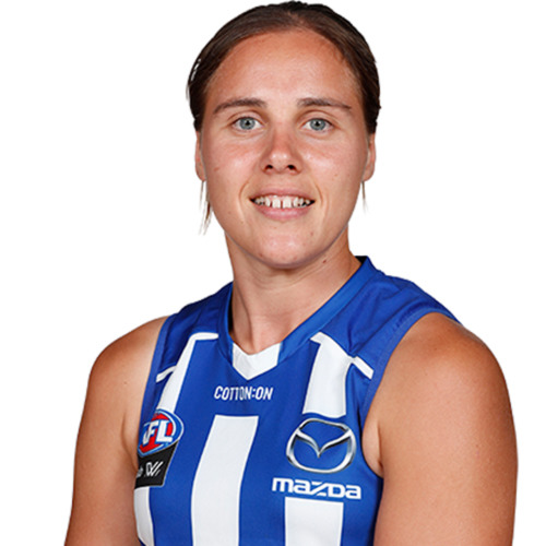 Photo of LOT W - 2021 AFLW HOME GUERNSEY - MATCH WORN BY JASMINE GARNER #25