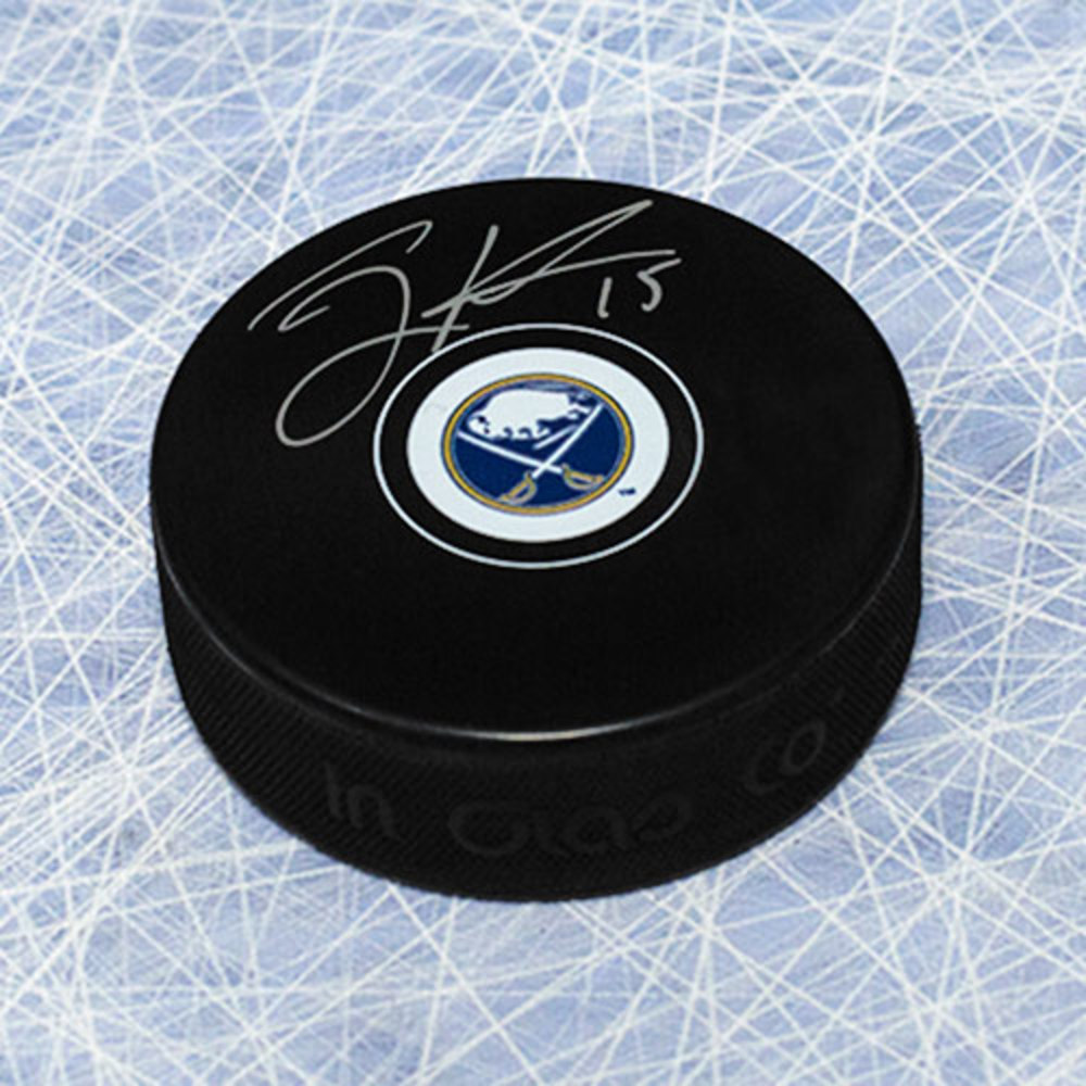 Jack Eichel Buffalo Sabres Autographed Hockey Puck