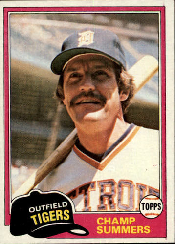 Photo of 1981 Topps #27 Champ Summers DP