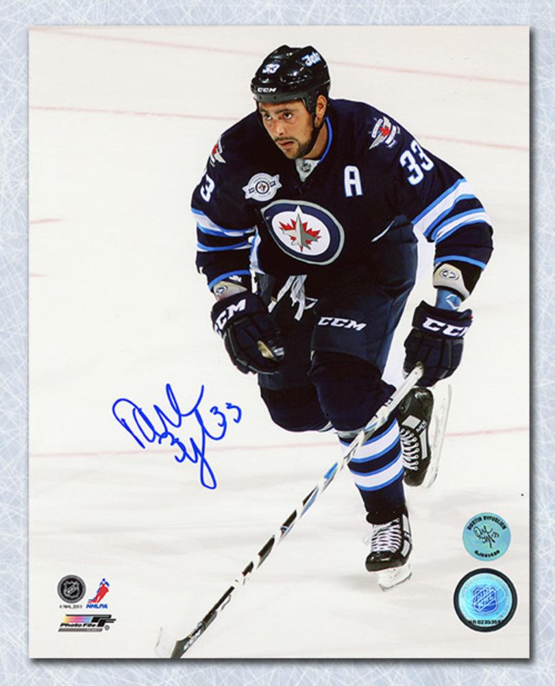 Dustin Byfuglien Winnipeg Jets Autographed 1st Game In Manitoba 16x20 Photo