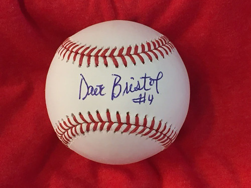 Photo of Dave Bristol Autographed Baseball