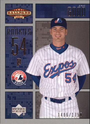 Photo of 2002 Upper Deck Ballpark Idols #218 Eric Good ROO RC
