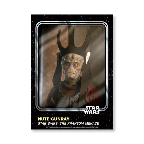 Nute Gunray 2016 Star Wars Card Trader Base Poster - # to 99