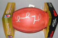 NFL - DOLPHINS ISAIAH FORD SIGNED AUTHENTIC FOOTBALL