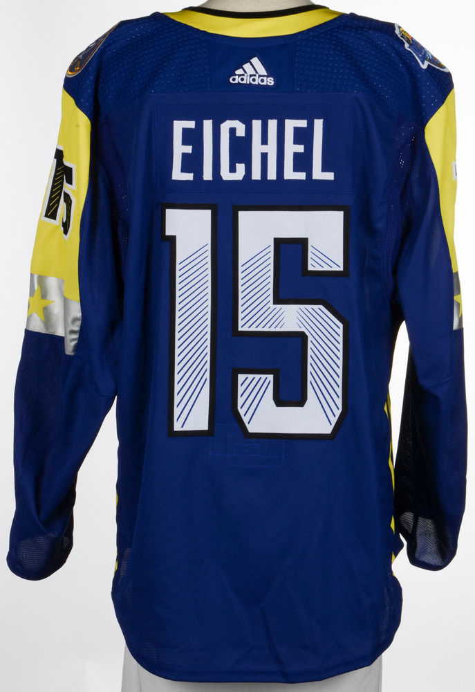 Jack Eichel Buffalo Sabres Game-Used 2018 All-Star Game Jersey