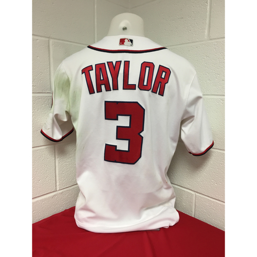 Photo of Game-Used Jersey: Michael Taylor 2017 NLDS