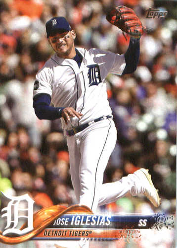 Photo of 2018 Topps #32 Jose Iglesias