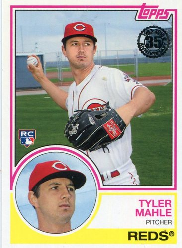 Photo of 2018 Topps '83 Rookies #834 Tyler Mahle