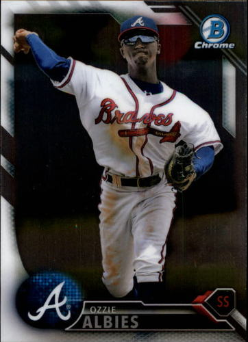 Photo of 2016 Bowman Chrome Prospects #BCP110 Ozzie Albies