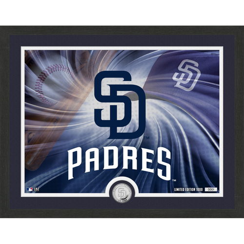"Photo of San Diego Padres Pride 16""x 20"" Silver Coin Photo Mint"