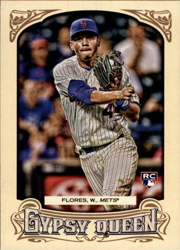 Photo of 2014 Topps Gypsy Queen #59 Wilmer Flores RC