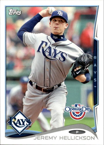 Photo of 2014 Topps Opening Day #34 Jeremy Hellickson