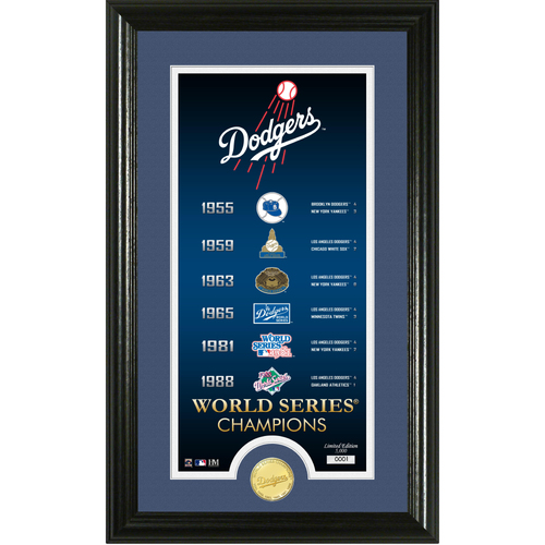 "Photo of Los Angeles Dodgers ""Legacy"" Supreme Bronze Coin Photo Mint"