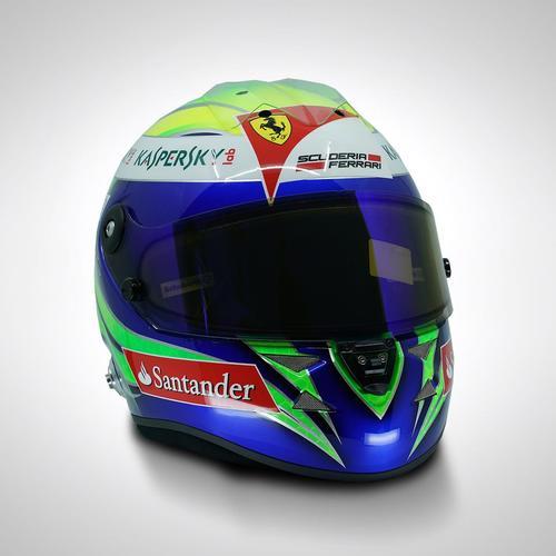 Photo of Felipe Massa 2013 Replica Helmet