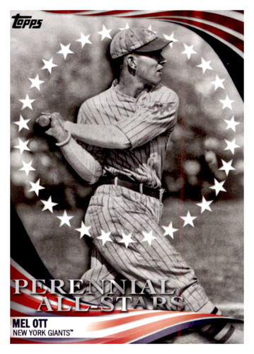 Photo of 2019 Topps Update Perennial All Stars #PAS21 Mel Ott
