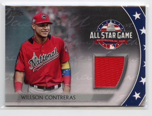 Photo of 2018 Topps Update All Star Stitches #ASTWC Willson Contreras