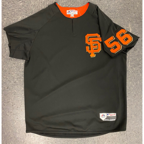 Photo of 2019 Batting Practice Jersey - used by #56 Tony Watson during 2019 Season - Size XL