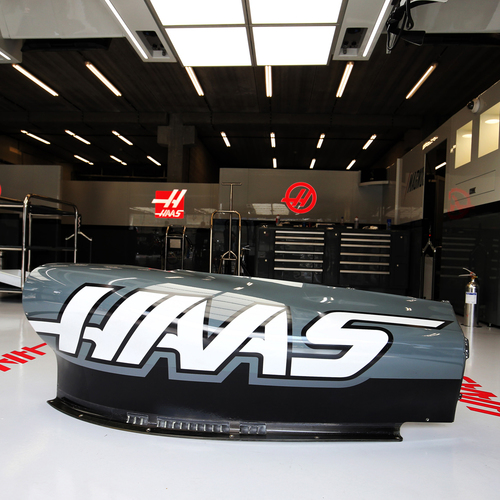Photo of Haas F1 Team 2017 Right hand Sidepod