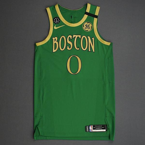 Image of Jayson Tatum - Boston Celtics - 2020 Taco Bell Skills Challenge - Event-Worn City Edition Jersey