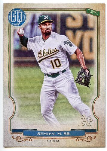 Photo of 2020 Topps Gypsy Queen #212 Marcus Semien