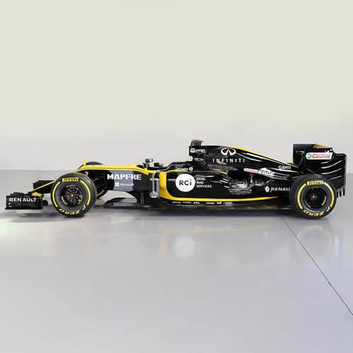 Photo of Official Renault F1 Team R.S.18 Ex-Race Car Build