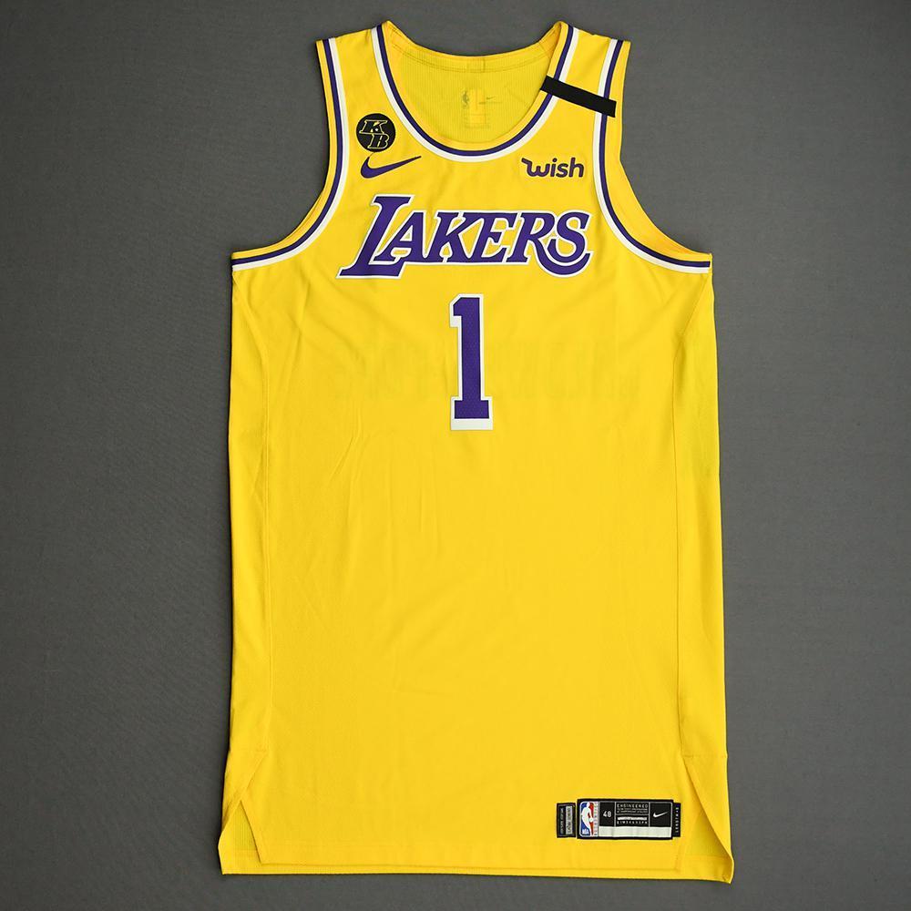 Kentavious Caldwell-Pope - Los Angeles Lakers - Game-Worn 2nd Half ...