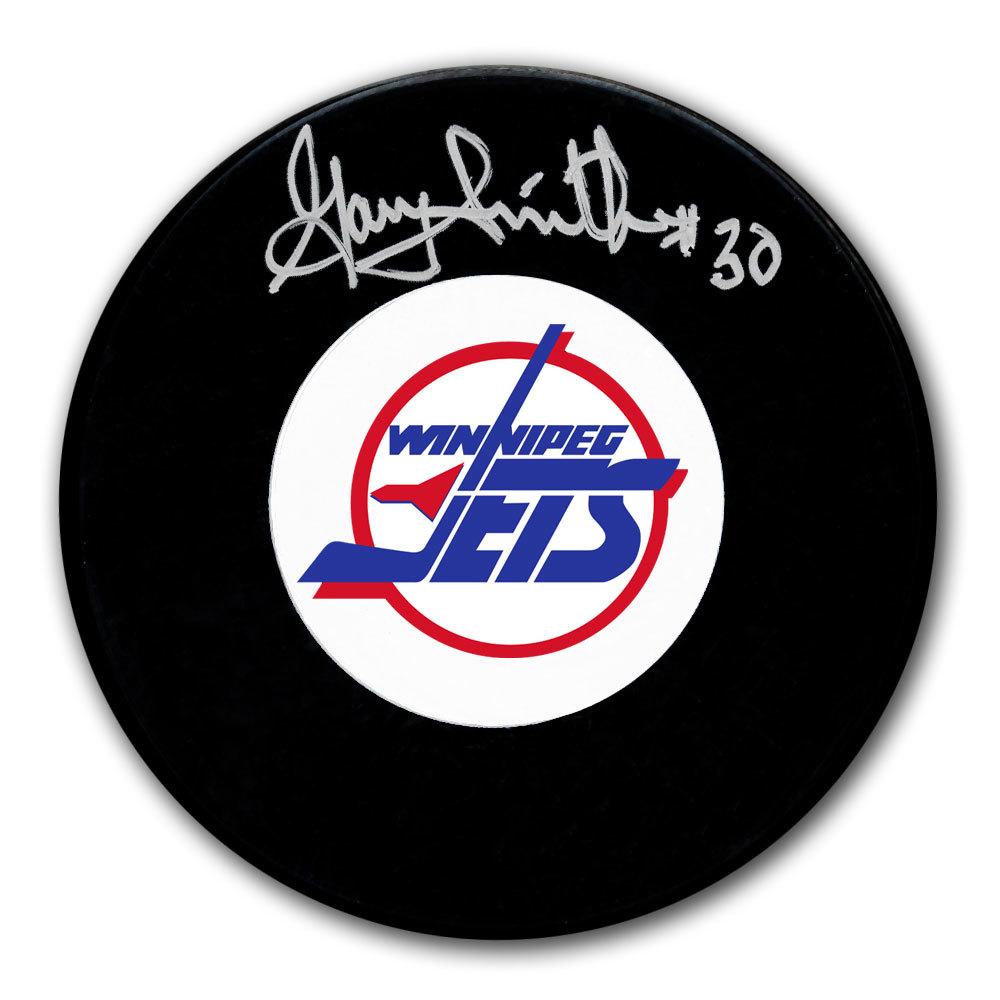 Gary Smith Winnipeg Jets Autographed Puck