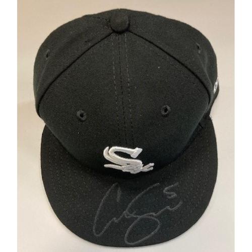 Photo of Yolmer Sanchez Autographed Cap
